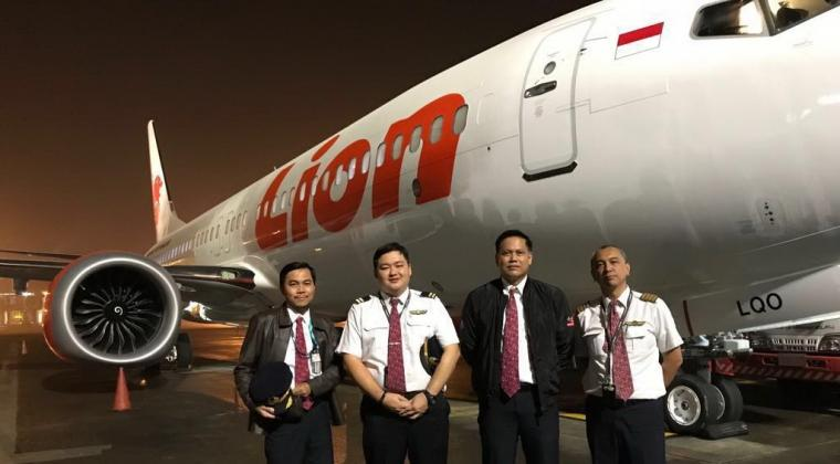 Boeing 737 MAX 8 Lion Air ke-9 Tiba di Indonesia