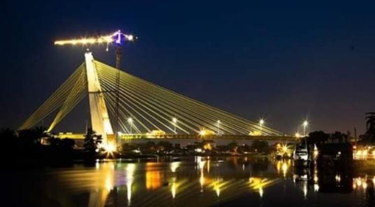 Image result for jembatan Siak IV